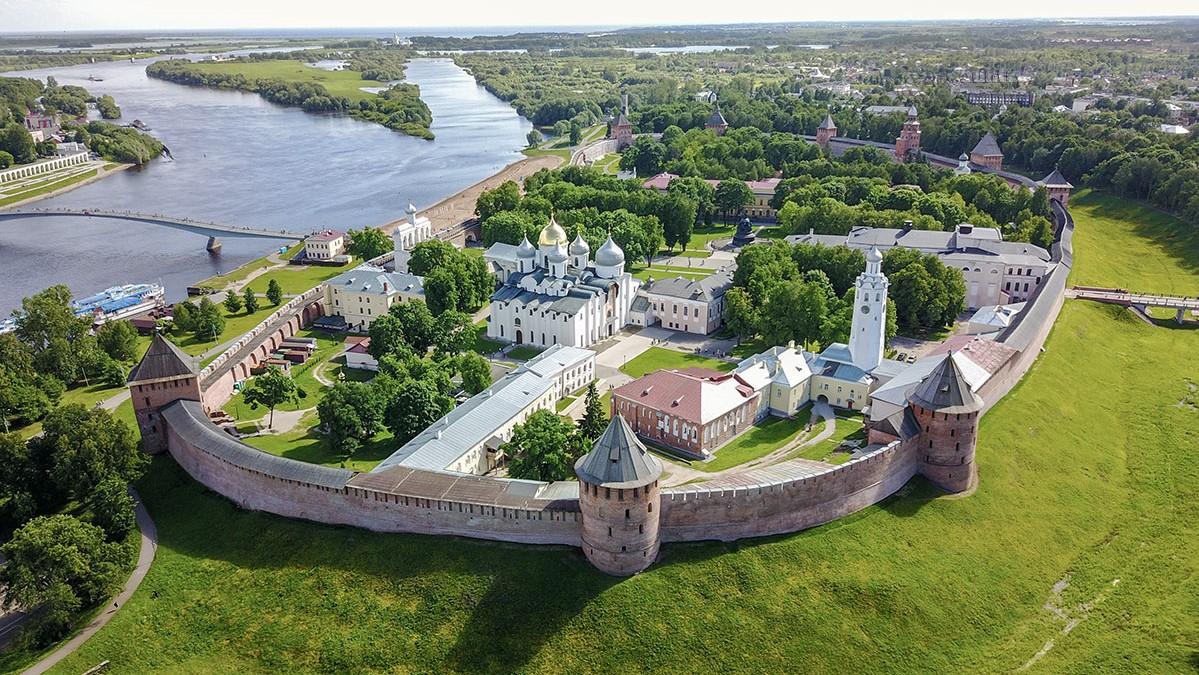 Veliky Novgorod, the Kremlin