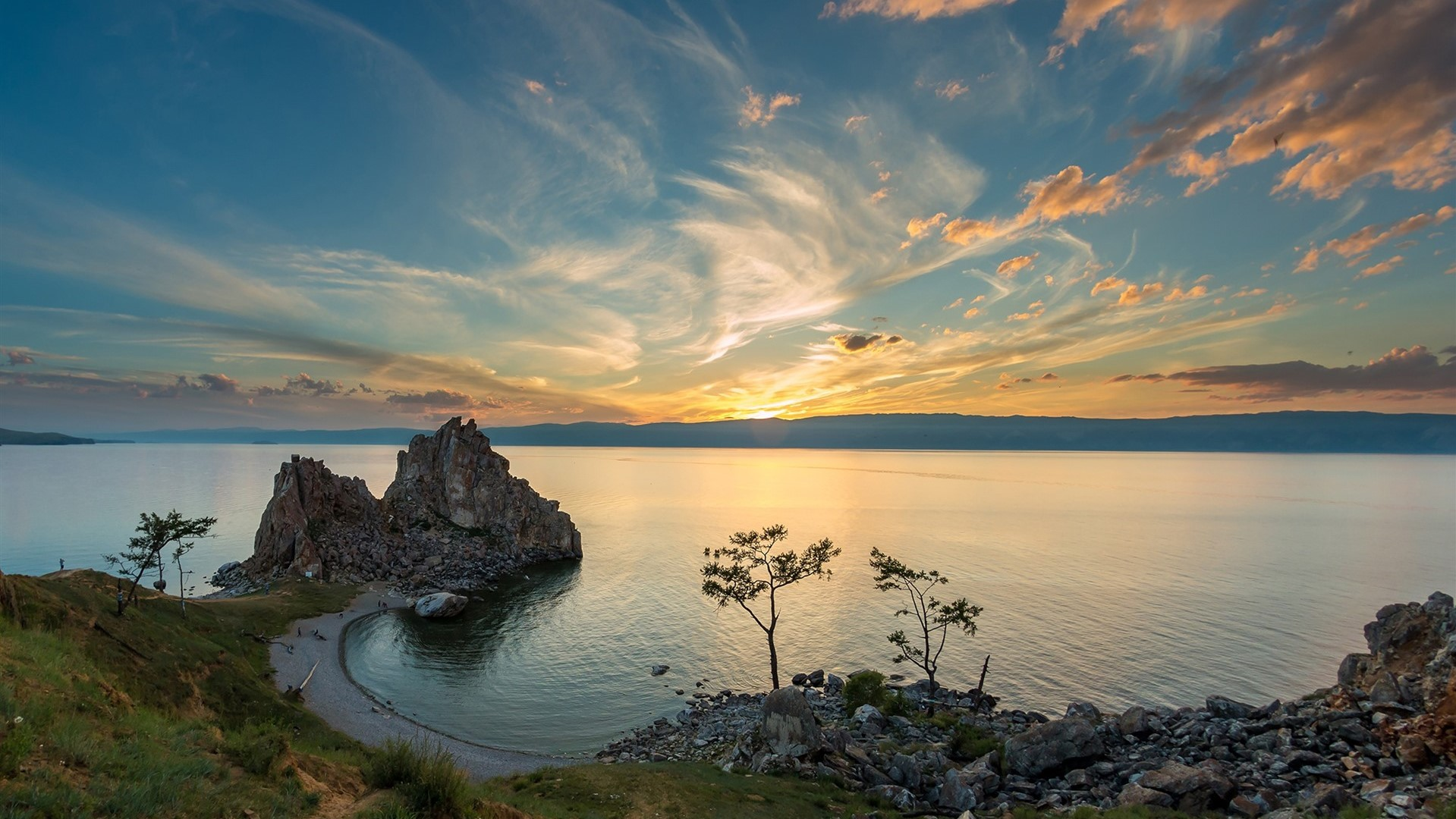 Olkhon island and Maloe More (Small Sea)