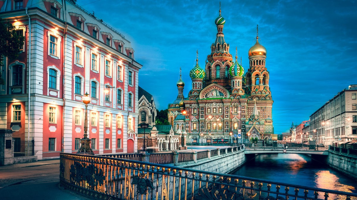 St. Petersburg,the Church of the Savior on Spilled Blood