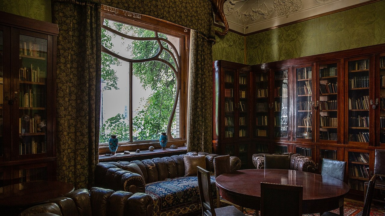 Moscow, The Gorky House (Dining room)
