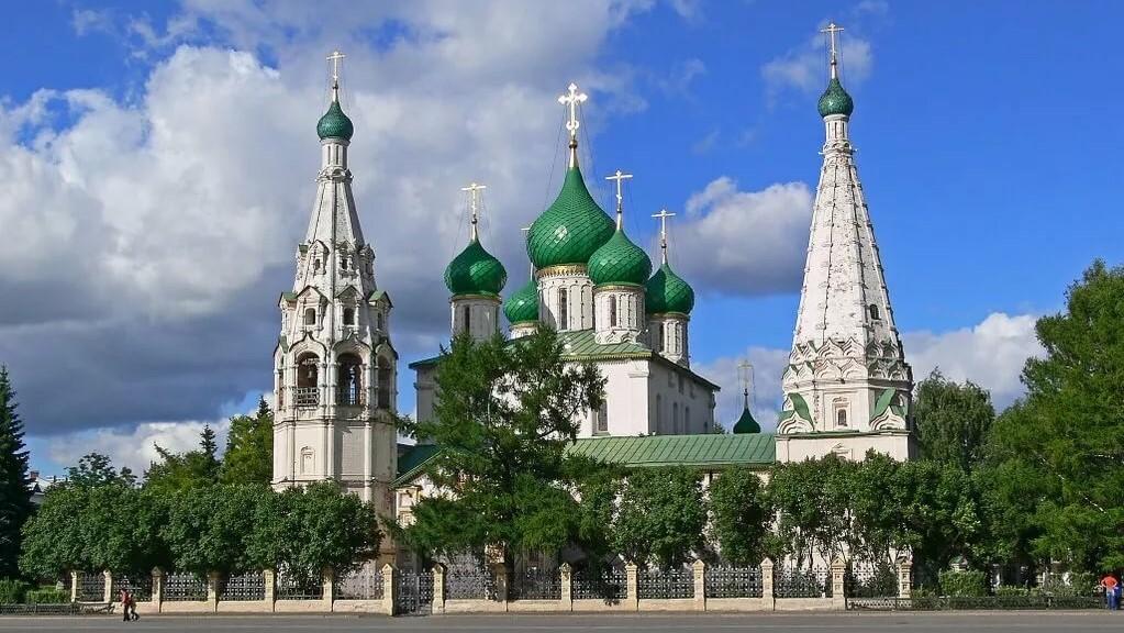 Yaroslavl, the Church of Prophet Elijah