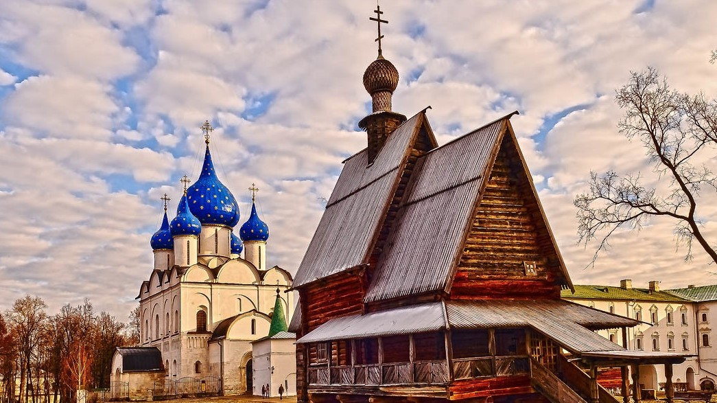 Suzdal, the Cathedral of the Nativity of the Theotokos
