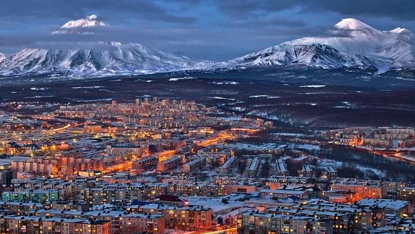 Petropavlovsk-Kamchatsky, the capital of Kamchatka