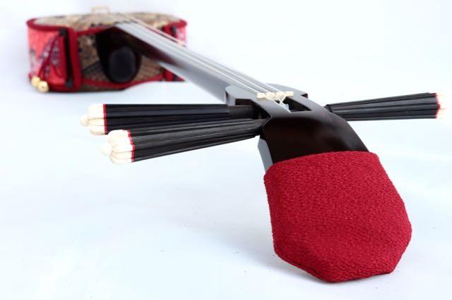 オーダーメイド紅型染め三線胴巻き(ティーガー)
