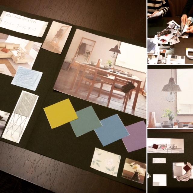 2/16「お部屋の色彩心理学」シエリアサロン対象者限定カラーセミナーを行いました。