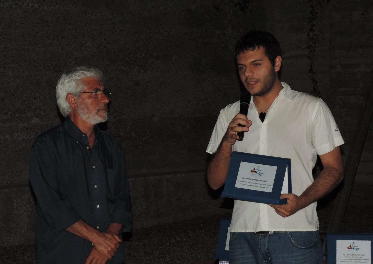 """Premio speciale """"Giovannello da Itala"""" con Marco Dentici"""