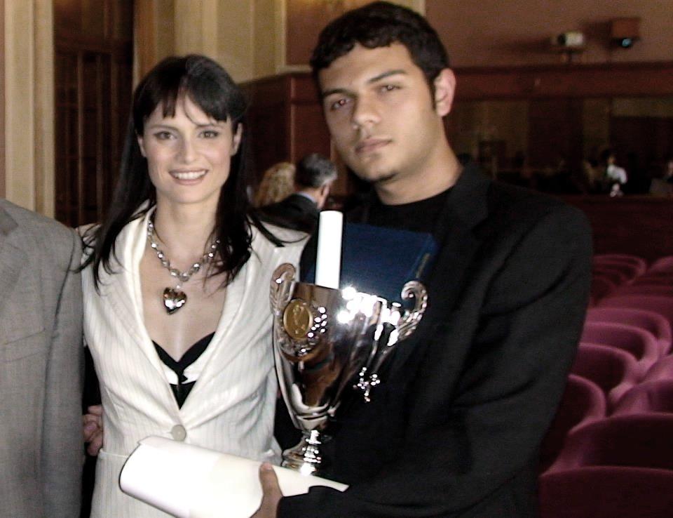 Lorena Bianchetti premia Fabrizio Sergi - 2008