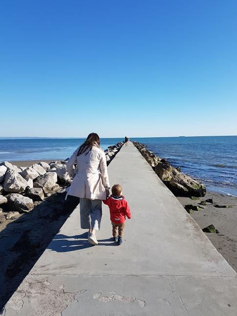 Steg am Meer von Grado