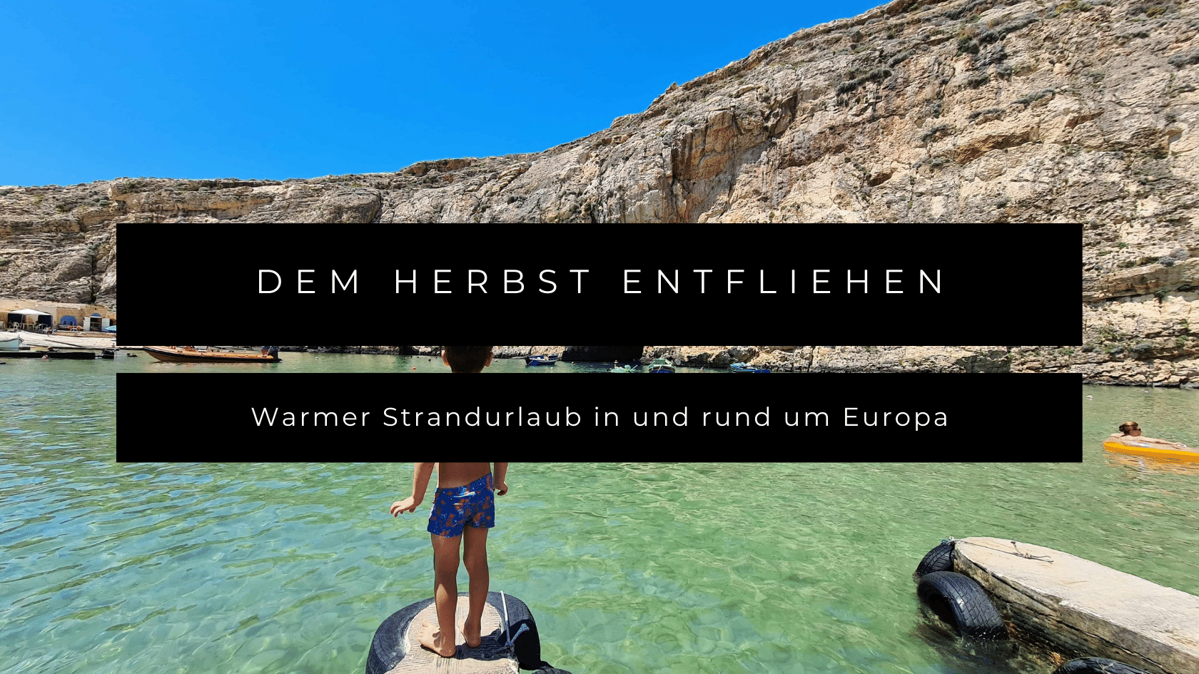 Dem Herbst entfliehen: warmer Strandurlaub in Europa