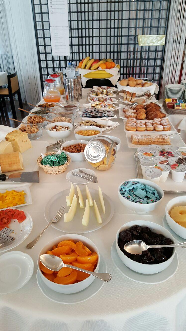 Frühstück Hotel Antares