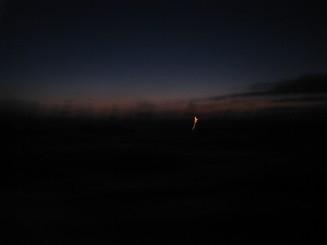 既に僚船の灯りが見えてました。