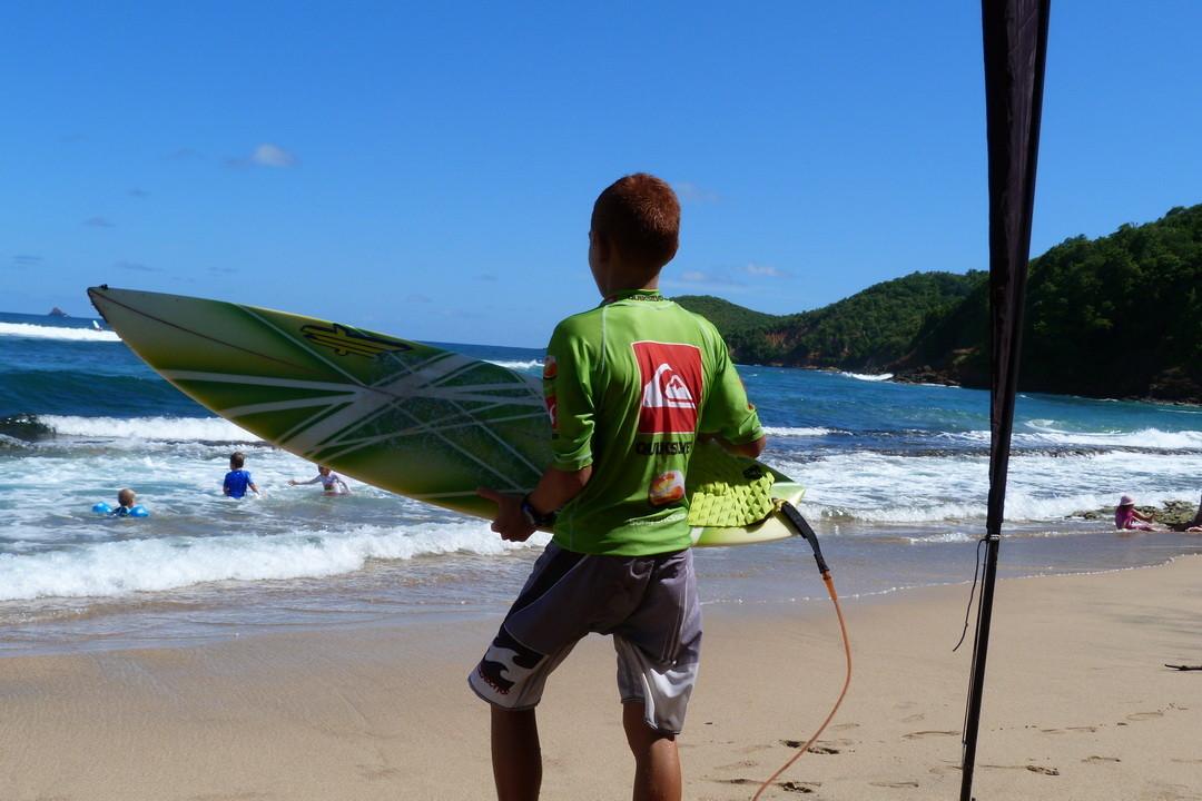 avant ma série surf open