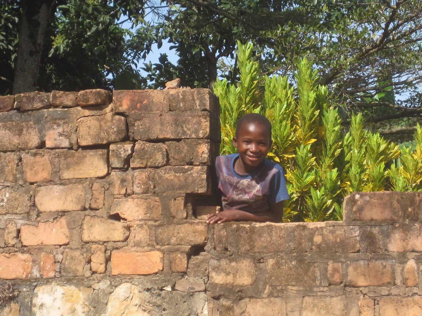 Einer unserer Nachbarsjungen