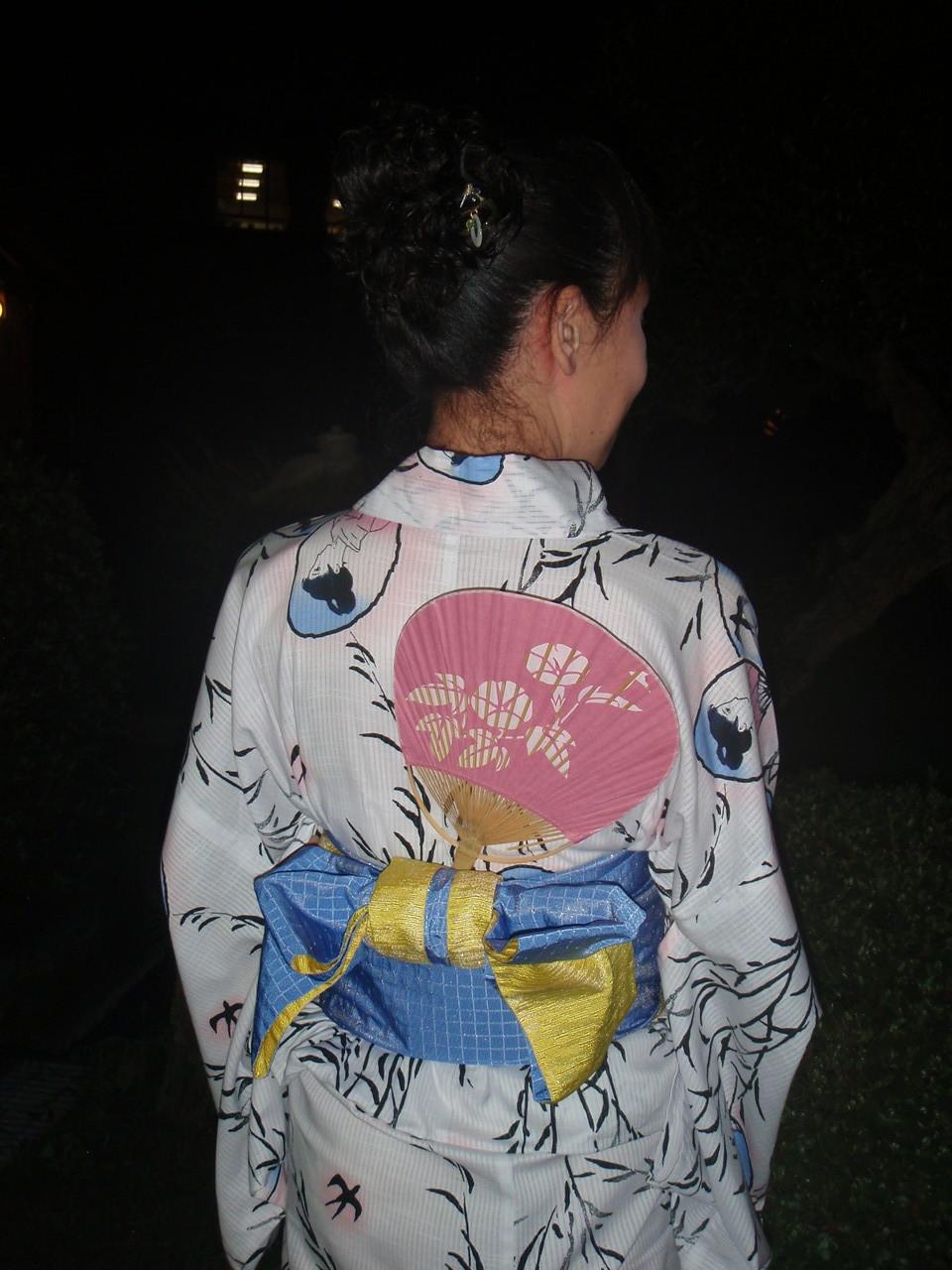 あゆみキモノ学院「はいから和生活」(岐阜県下呂市の着物教室)プレゼンツ夏の装い 浴衣(ゆかた)