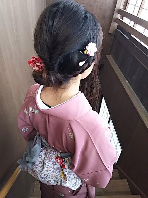 下呂温泉合掌村で着物体験