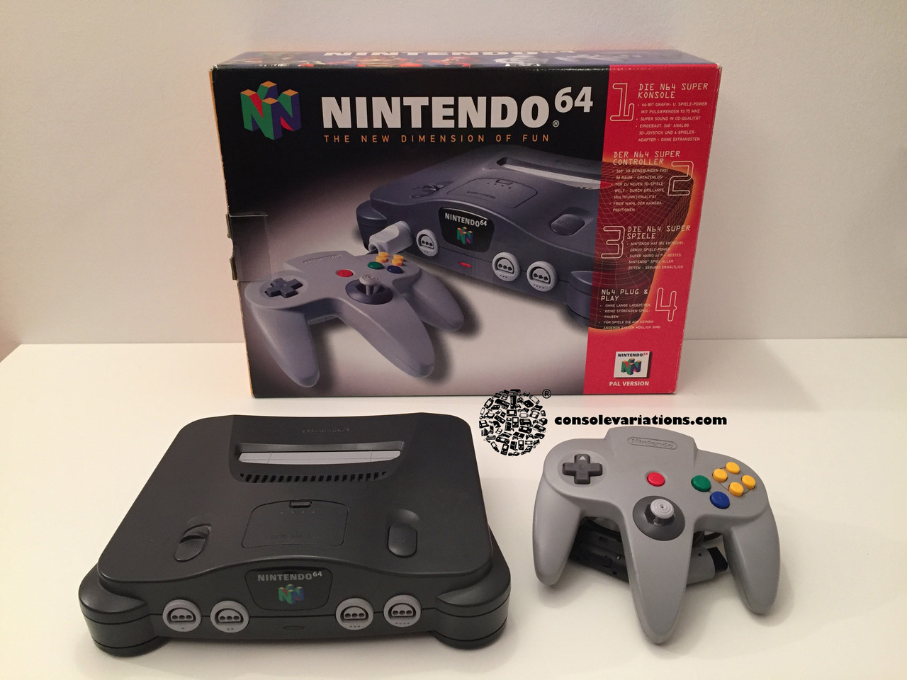 Nintendo 64 console variations the database for all console colors and variations - Super nintendo 64 console ...