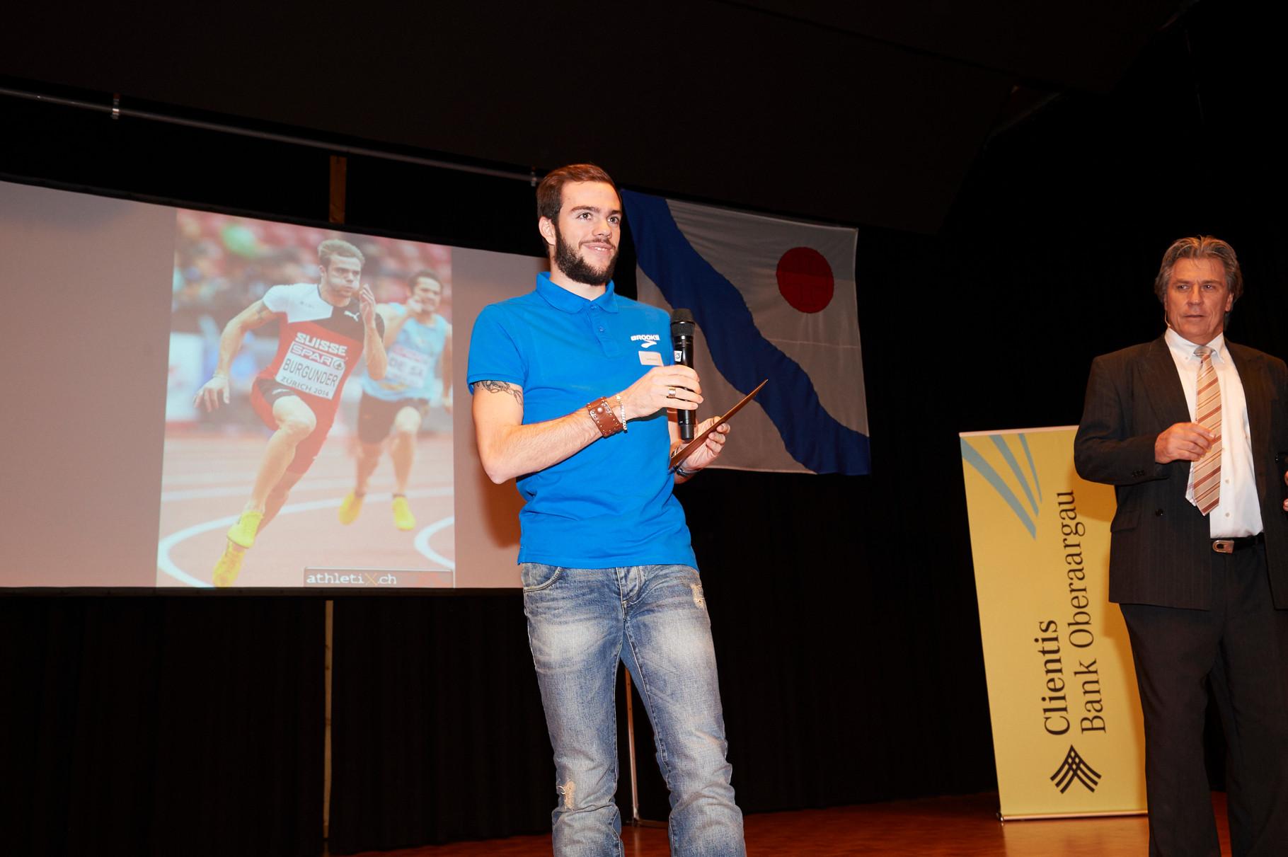 Pechvogel des Jahres:     Joel Burgunder, Leichtathletik, Heimenhausen