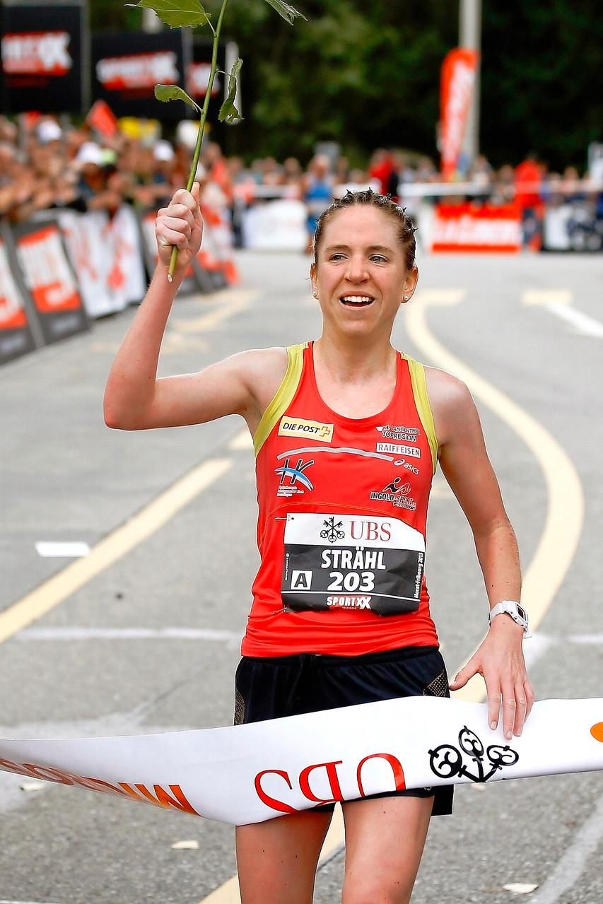 Martina Strähl - Schweizer Berg- und Langstreckenläuferin