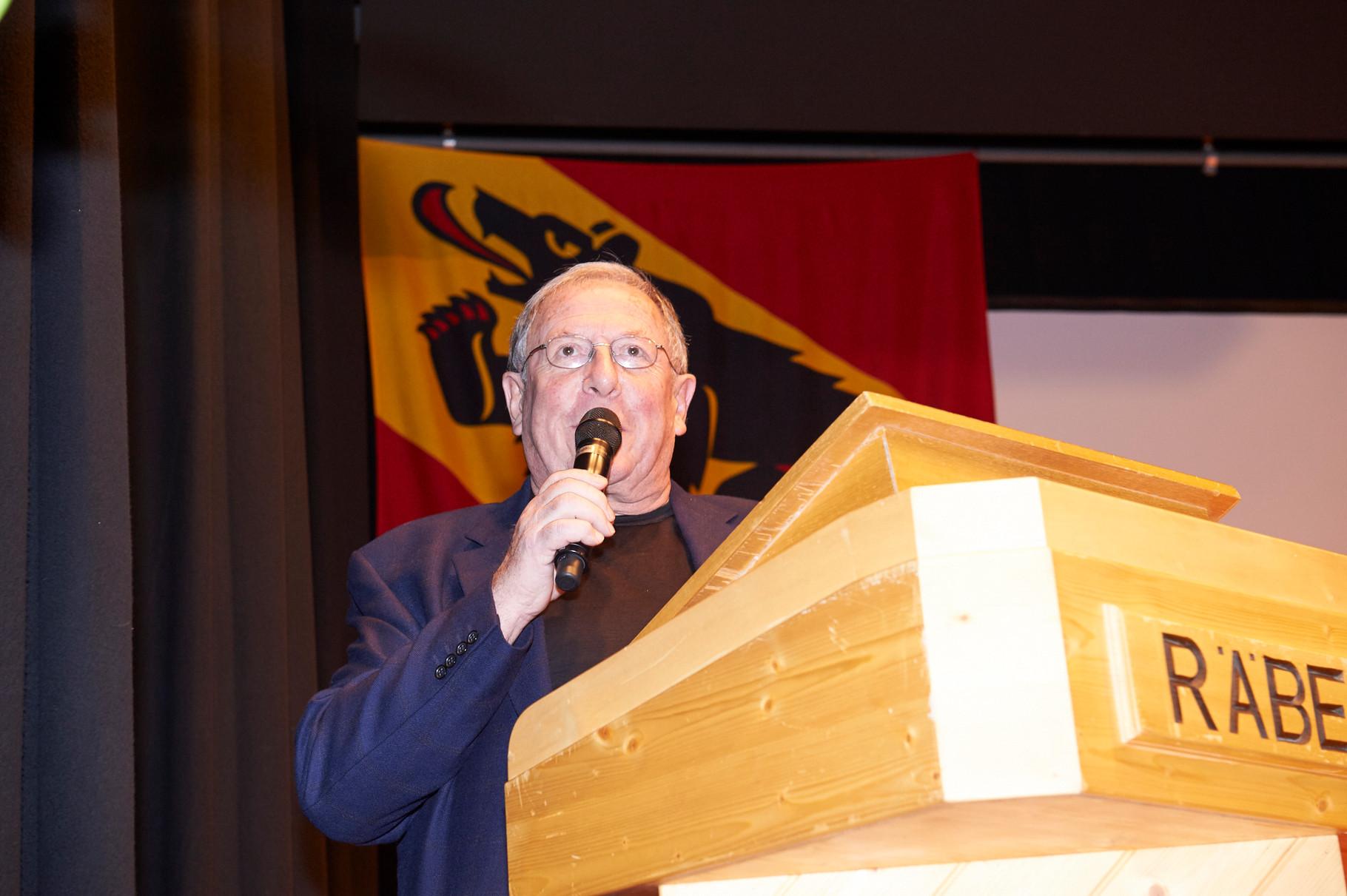 Marcel Hammel würdigt die Sportpersönlichkeit B.Winz