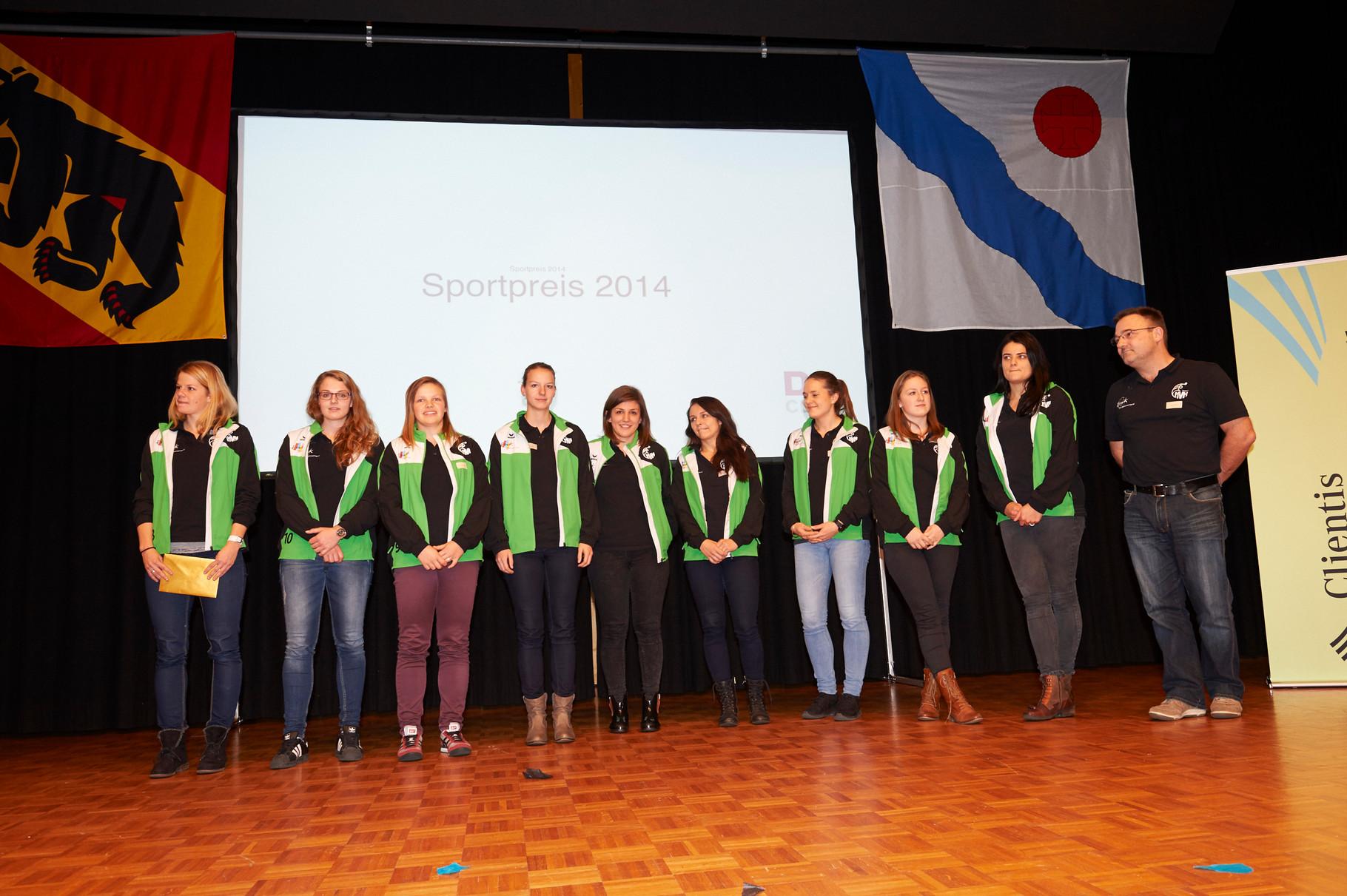 Aufsteiger des Jahres: Frauenteam VBC Langenthal