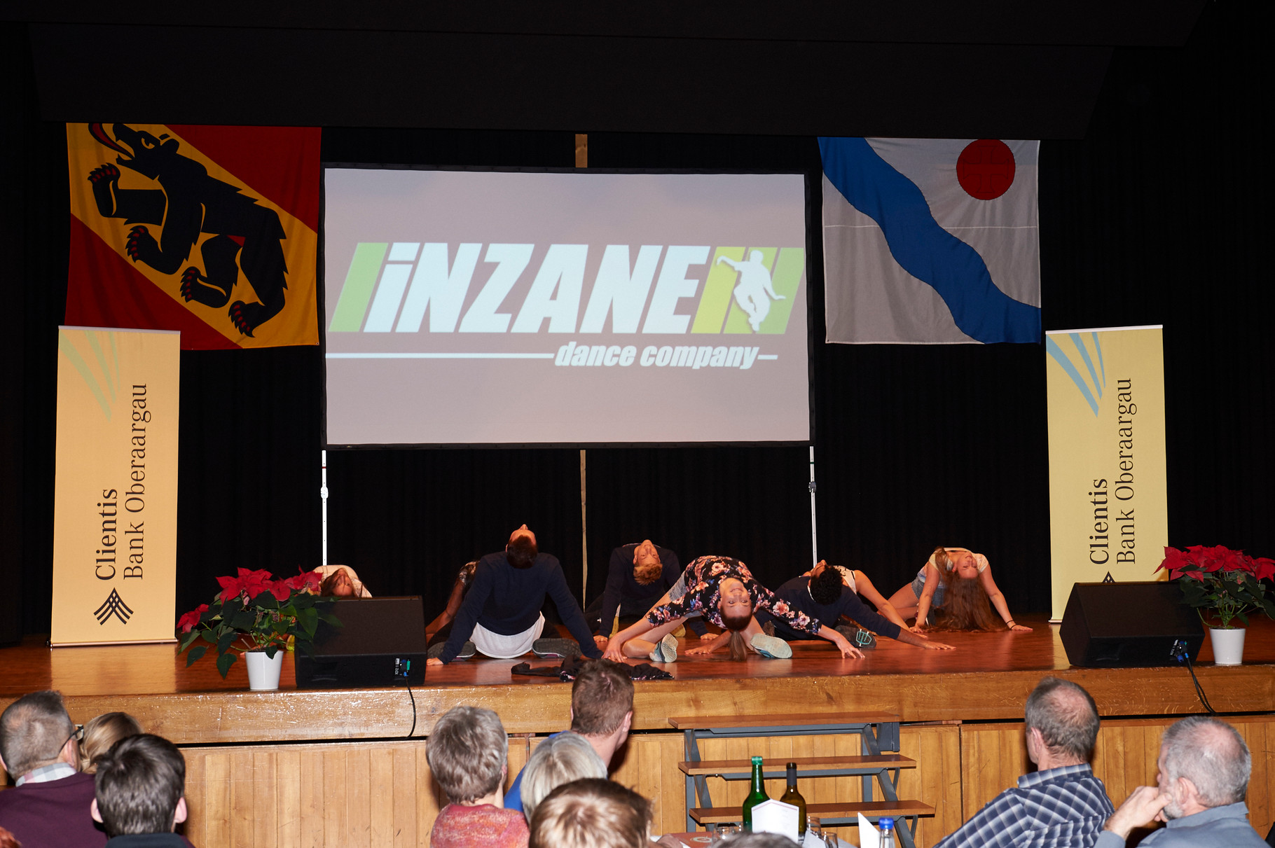 Tanzgruppe von Christa Rytz mit INZANE
