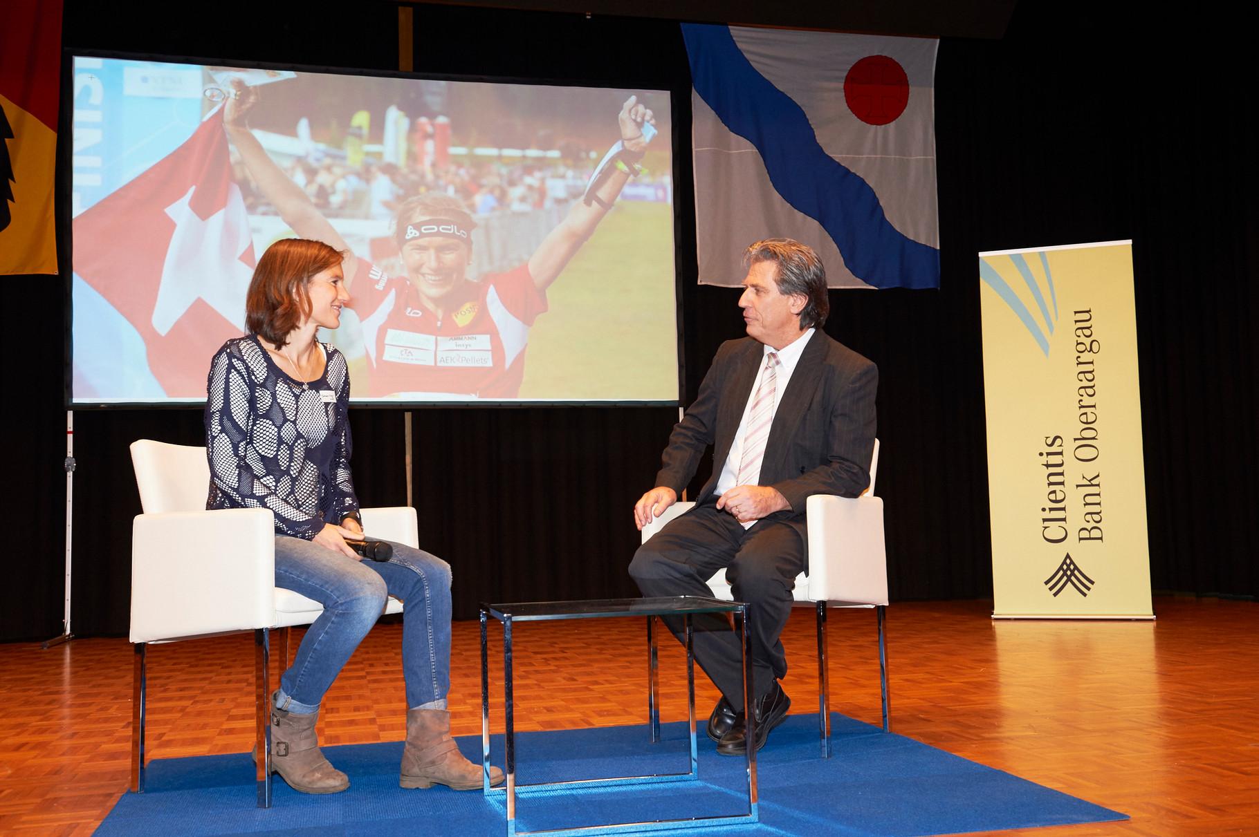 Barni Schär interviewt die 23-fache OL-Weltmeisterin