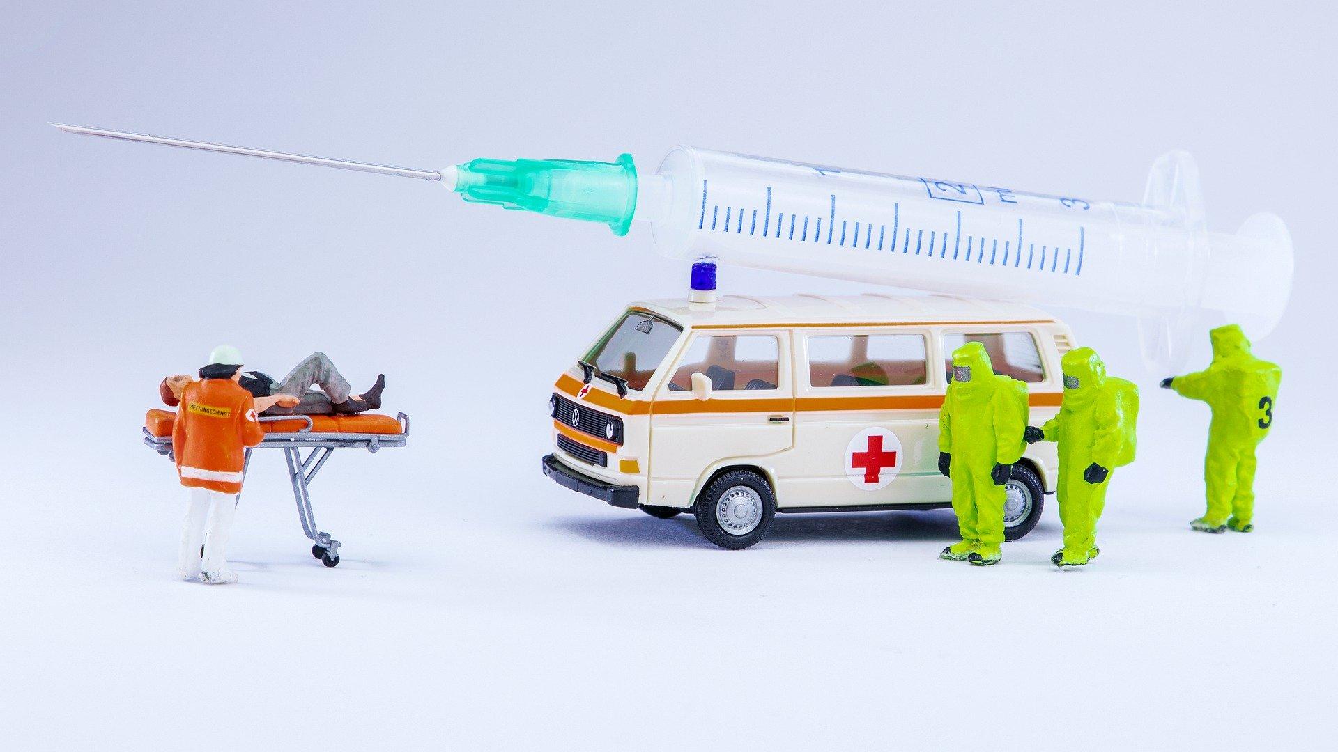 Vor – Ort Impfaktion des Impfzentrums Erding