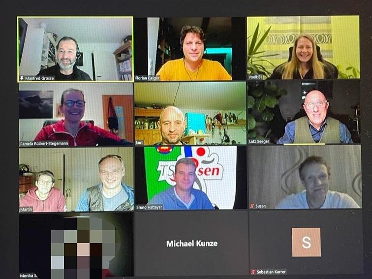 Sitzung des TSV-Vorstands