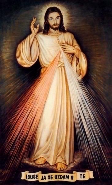 Slika Isusovog milosrđa