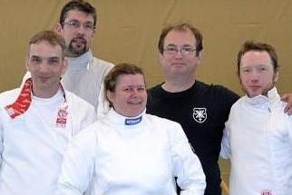 Ralf, Holger, Nathalie, Ulrich und Kevin