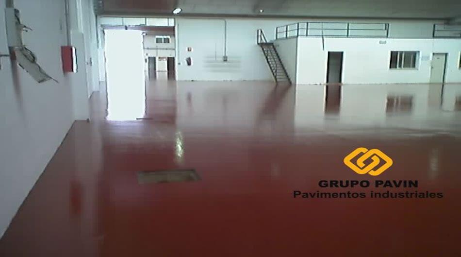 Pavimento industrial para fábrica de material eléctrico