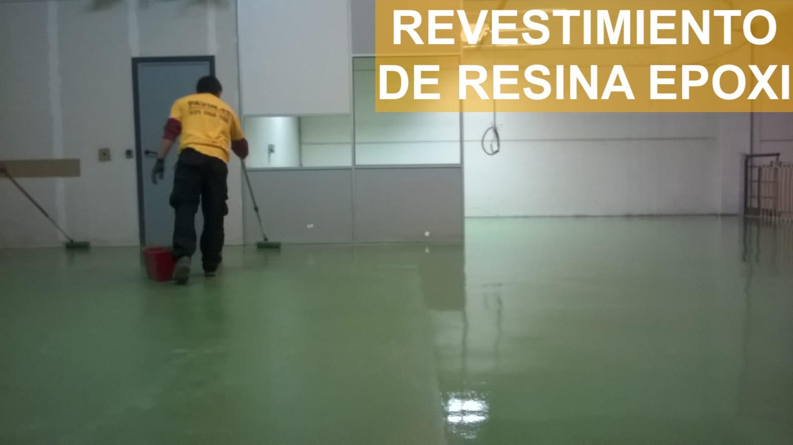 Revestimiento de resina epoxi