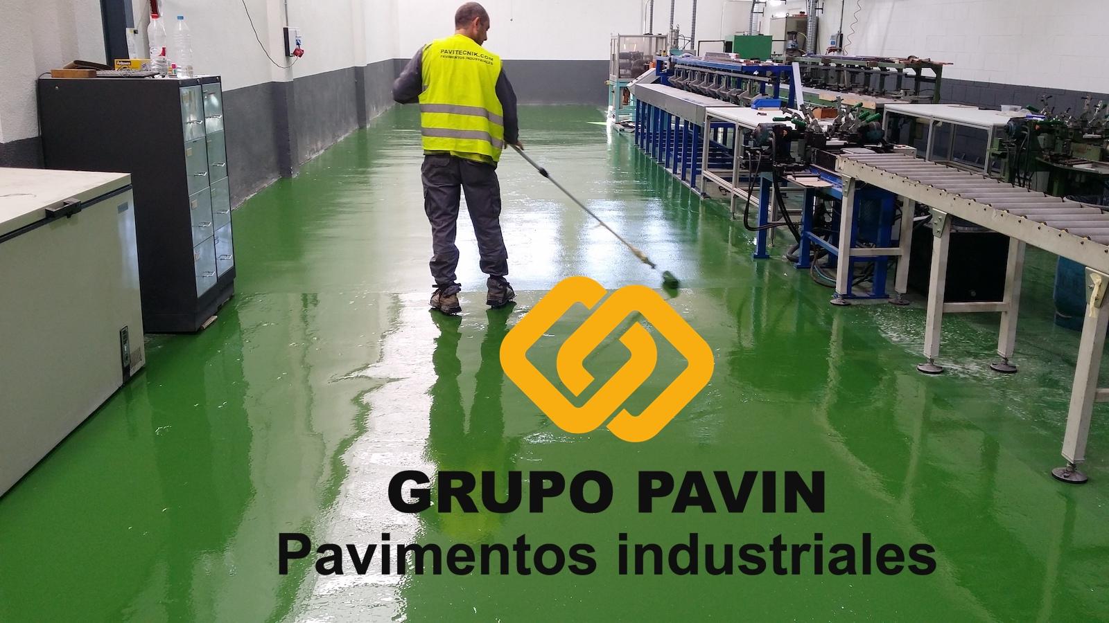 Pavimento industrial epoxi básico en industria