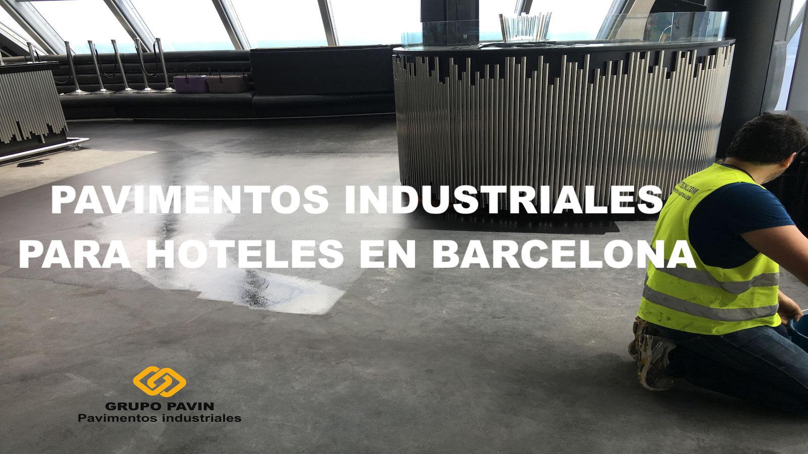 Pavimentos industriales para hoteles