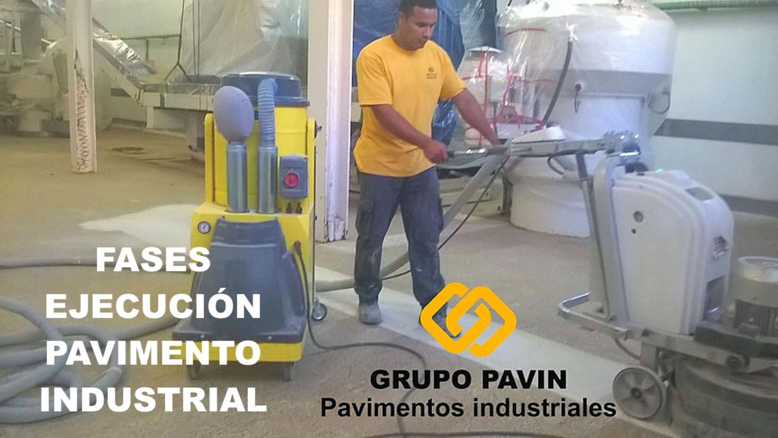 GRUPO PAVIN - Suelos y pavimentos industriales | Fases del proceso de ejecución de un pavimento industrial
