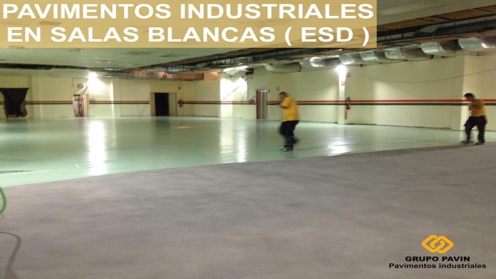 Pavimentos industriales para salas blancas ( ESD )