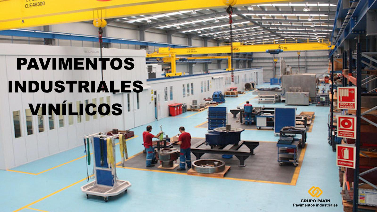GRUPO PAVIN - Pavimentos industriales y decorativos | Suelos vinílicos industriales - PavinTrafic
