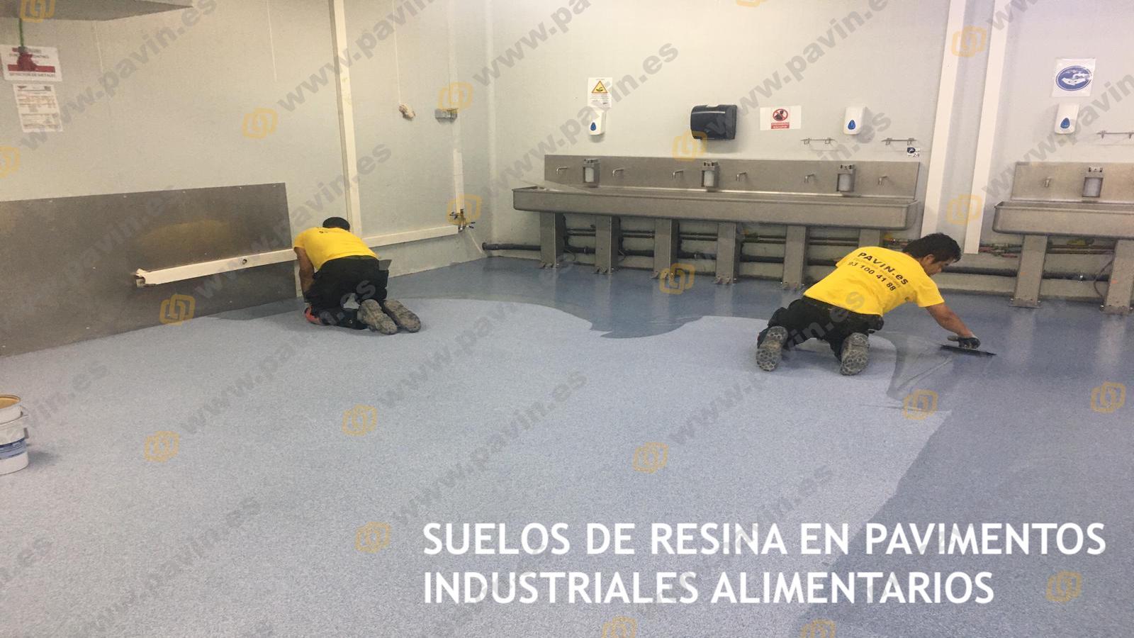 Suelos de resina para pavimentos industriales en naves de alimentación