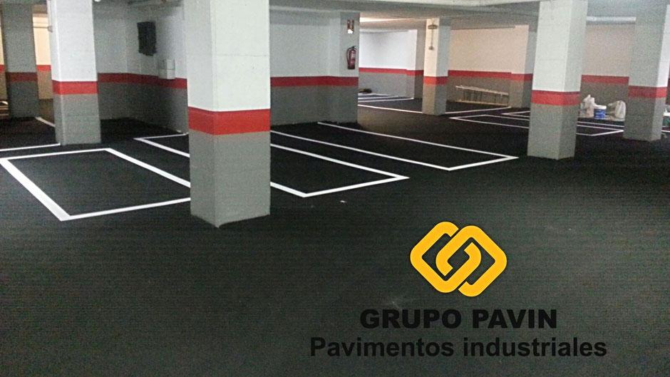 Pavimentos industriales de asfalto