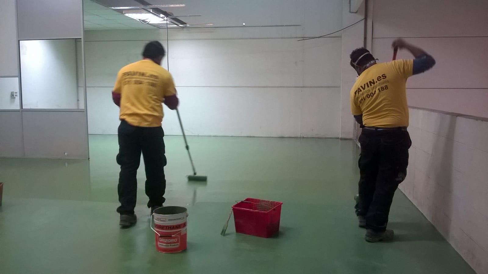 Revestimiento poliuretano para interiores