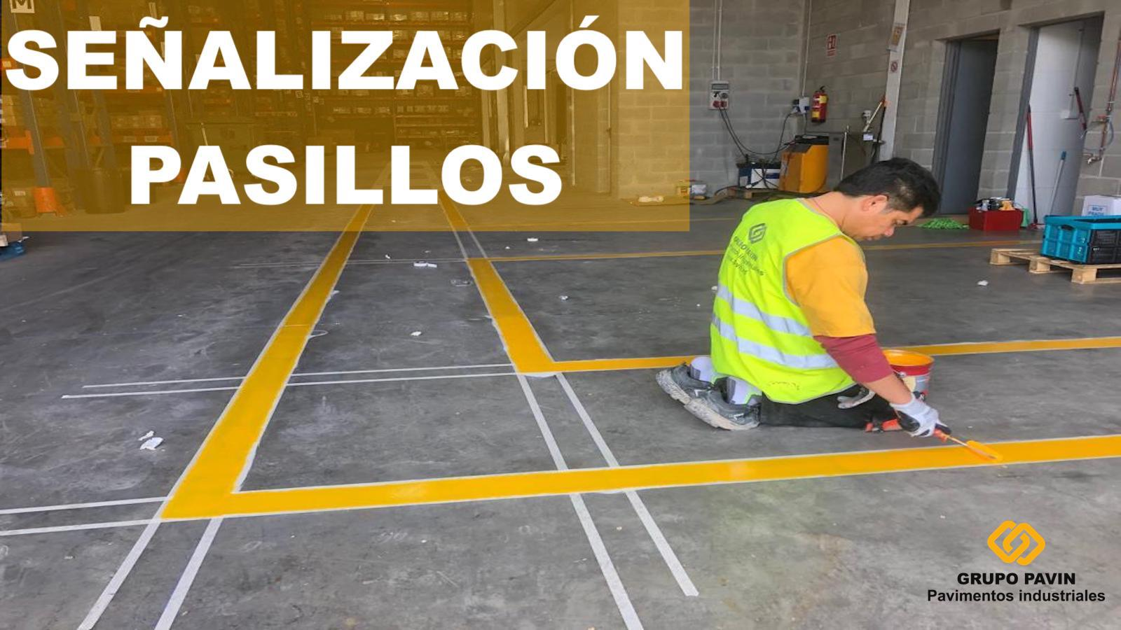 Señalización pasillos