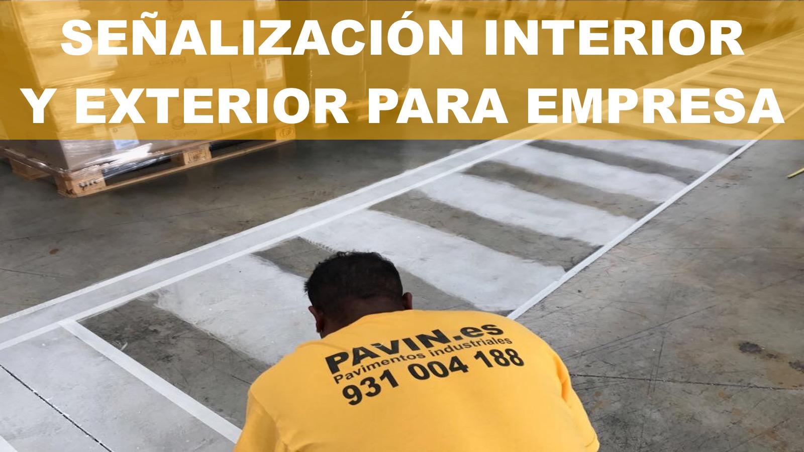 Señalización interior y exterior para la empresa
