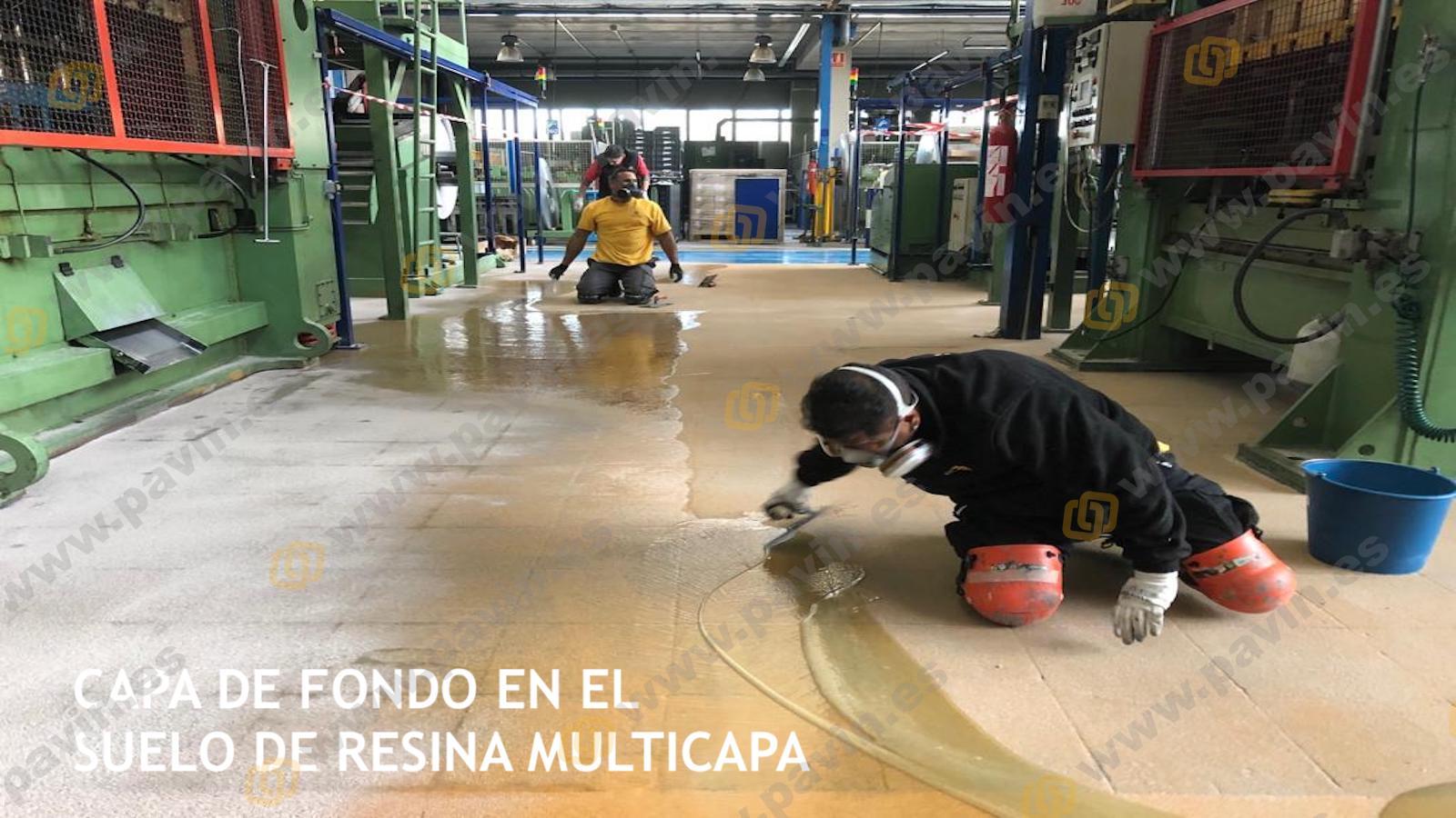 ¿Cómo aplicar suelos de resina multicapa para pavimentos industriales?