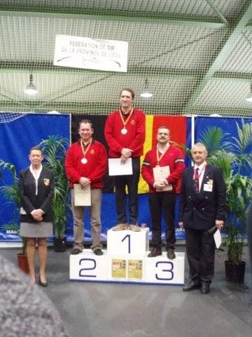 Vincent Havaux champion de Belgique 2008 et Rudolph Lambert vice-champion de Belgique