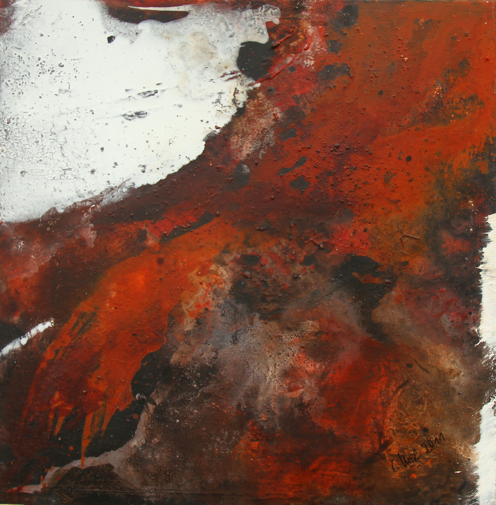 The Day before - 80 x 80 cm - 2011