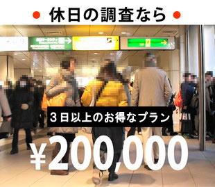 調査 お得な20時間プラン 200,000円