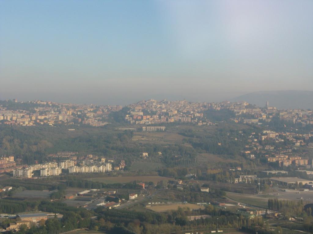 La vista panoramica.