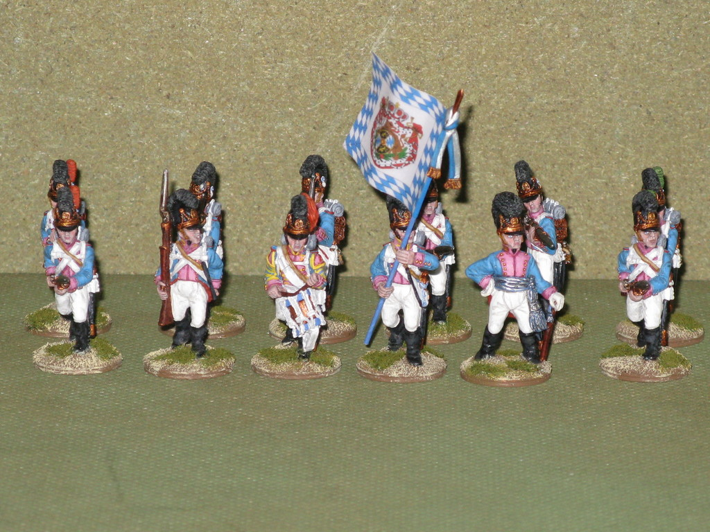Fanteria bavarese, 7° reggimento - Bavarian infantry, 7th Regiment