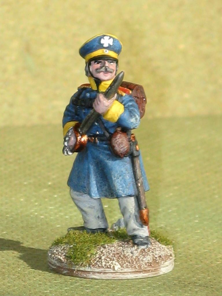 Silesian Landwehr Infantry Foot Officier.