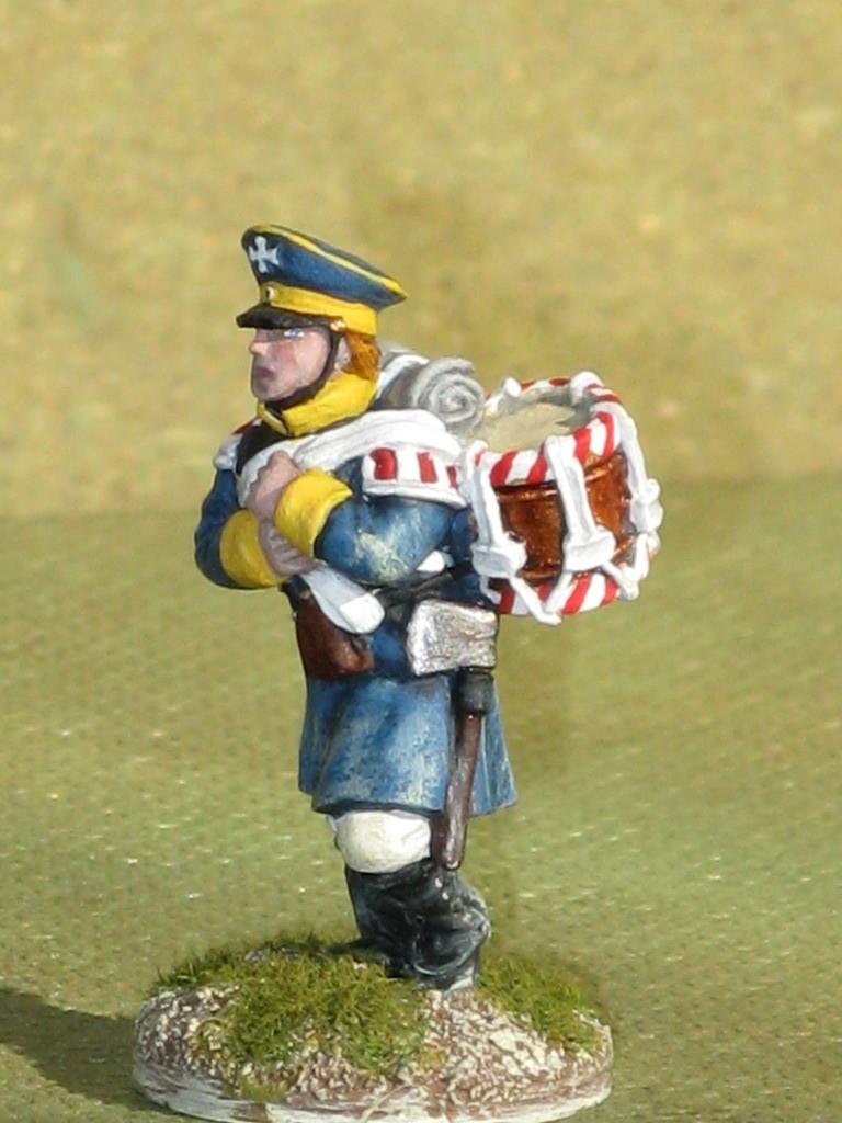Silesian Landwehr Infantry Drummer.